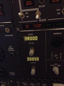 Flight and landing altitude