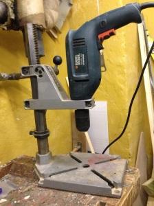 Vertical drill