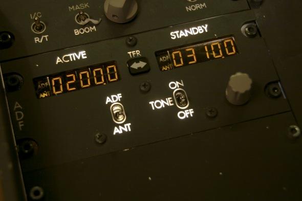ADF-radio