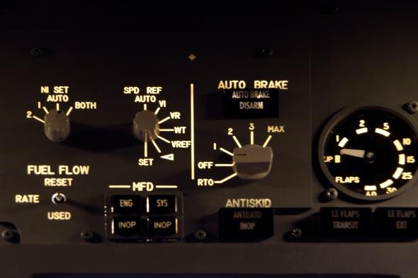 Flaps panel